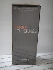 HERMES Terre D'Hermes Men Hair and Body Shower Gel 6.5 oz 200ML  Sealed Box