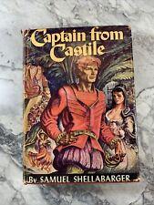 "1946 Antique Book ""Captain From Castile"""