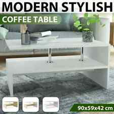 vidaXL Coffee Table Chipboard 90cm Wooden Couch Side End Table Multi Colours