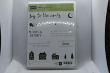 New Retired Hearts Come Home Stampin Up Rubber Stamps - 145416