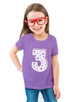 3rd Birthday Superstar 3 Years Old Cute Gift Toddler/Kids Girls' Fitted T-Shirt