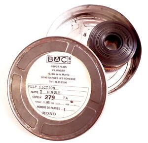 Bande Annonce -  pellicule 35 mm PULP FICTION (+ boîte d'origine)
