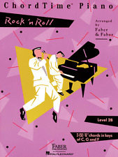FABER PIANO ADVENTURES CHORDTIME ROCK 'N' ROLL LEVEL 2B MUSIC BOOK-NEW ON SALE!!