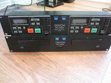 Denon DN2000F Dual CD PLAYER w/RC35 REMOTE. No cable.