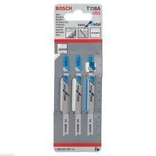 Bosch Jigsaw blade T 118 A Basic for Metal 2608631507