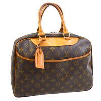 LOUIS VUITTON DEAUVILLE BUSINESS HAND BAG PURSE MONOGRAM CANVAS M47270 30729