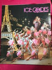 Vintage Ice Capades Show Program, 1981, Ice Skating