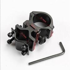 Long Rifle Shotgun Scope Mount Laser Flashlight Barrel Pipe Clamp Holder FS