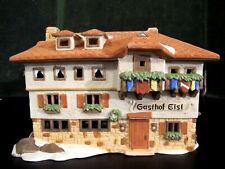 Dept 56 Alpine Village ~ Gasthof Eisl ~ Mint In Box 65404