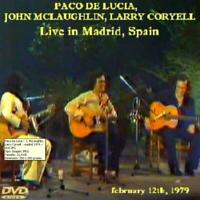 JOHN McLAUGHLIN, PACO DE LUCIA, LARRY CORYELL - EN DIRECTO, MADRID 1979 (DVD)