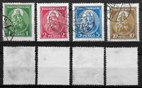 1932 - HONGRIE - Série Complète - 445/448 - Oblitérés - Yvert.C/75.00.eur - TB.