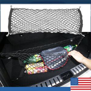 Car Accessories Envelope Style Trunk Cargo Net Storage Organizer Universal US
