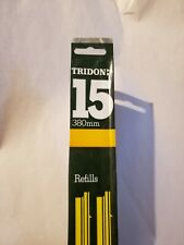 "15"" Windshield Wiper Blade Refills 1 pair Tridon 83-15R NOS"