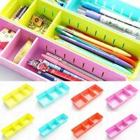 UK Adjustable Drawer Organizer Storage Box Kitchen Board Free Divider Tableware
