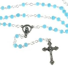 Childrens Blue Rosary Beads