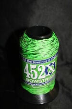 Flo Green & Black Speckled 1/8lb BCY 452X Bowstring Material Bow String Making