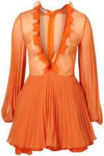 Topshop sadie dress UK 10 in Orange ( New with tags )