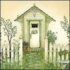 Art Print, Framed or Plaque by Linda Spivey - Cottage Outhouse 4 - LS808-R