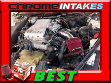 K&N+BLACK RED 88 89 90-94 CHEVY CAVALIER Z24 2.8 2.8L/3.1 3.1L V6 AIR INTAKE KIT