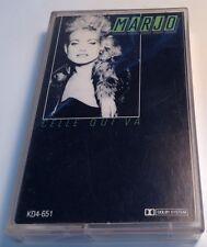MARJO Tape Cassette CELLE QUI VA 1986 Trans Canada Music  KD4-651