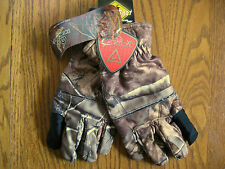 Lightweight Non-slip Odor-X REALTREE AP Camouflage Full Finger Gloves Adult L