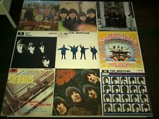 Beatles Vinyl LP's X 9 - JOBLOT - Rubber Soul / Help / Sgt Pepper / Hey Jude