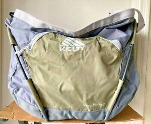 Kelty Camp Hauler 2  Large Camping Travel Duffel Bag Hoop Frame Handle