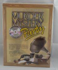 Asesinato cena misteriosa Fiesta Juego DVD y CD de edición whodunit Navidad Diversión