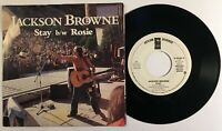 Jackson Browne / Stay (Mono & Stereo) Promo  / 1977 45rpm & PS / Great!