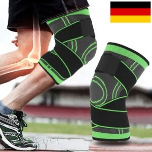 3D Kniebandage Kniestütze Verband Schmerzen Kompression Sport Bandage KnieSchutz