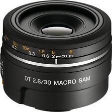 Sony SAL30M28 DT 30mm f/2.8 Lens for Alpha Digital SLR Cameras