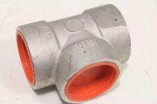 "NEW ASP B16 2"" X 2 ""X 2"" SS F304L/304 S/W TEE Stainless Steel SOCKET WELD A182"