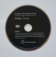 2019 MERCEDES NTG2.5 SAT NAV DVD DISC MAP UPDATE UK&EUROPE