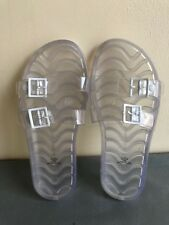 GAP Clear Rubber Slide on Women Sandals size US  3-4