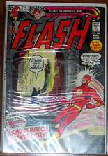 FLASH 208 (FN+) Barry Allen! Classic Bronze-Age DC 52 Pages! LQQK