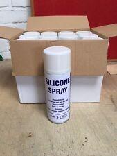 Professional Silicone Spray 12 x 400ml - Specialist High Performance Lubricant