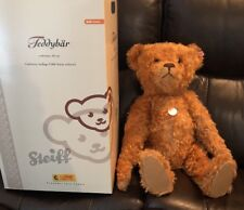 "Steiff Teddy Bear Red/Brown 23"" 248/2006 Mohair Growler 037054 Germany 2006"