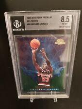 1995-96 Skybox Michael Jordan Meltdown #M1 BGS 8.5 NM-MT+
