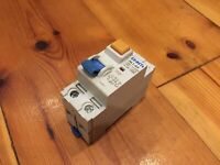 CHINT NL1-63 25A 25 AMP RCD 30mA 2 POLE DIN RAIL MOUNT 61211 circuit breaker