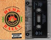 Total Devastation Hemp Rally 1994 Cassette Tape Single Rap Hiphop