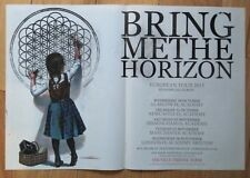 BRING ME THE HORIZON European Tour 2013 Poster - UK Dates