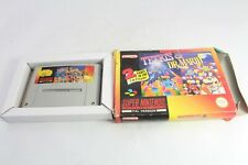 Snes Super Tetris and Dr Mario Pal Video Game Boxed No Instructions