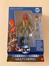 DC Multiverse: Red Hood (Jason Todd) Figure NIB w/ Killer Croc BAF