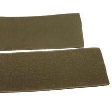 Klettband Klett Haken 100mm oliv H+F Flausch Industrieklettband aufnähbar stark