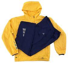 Adidas Climalite Tracksuit 1/2 Zip Jacket & Pants Both /w Locking Drawstring