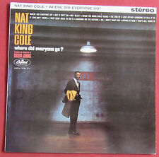 NAT KING COLE  LP UK  WHERE DID EVERYONE GO ?