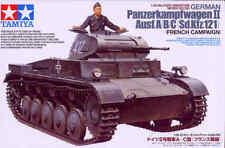 TAMIYA 1/35 Panzer II Ausf A / CAJA / C Francés CAMPAÑA #35292