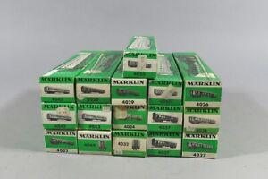 H 78657 Sammlung originalverpackter Märklin H0 Eisenbahnwagen