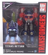 Optimus Prime and Diac Titans Return Voyager Transformer NEW (MISB)  [OPDI1]