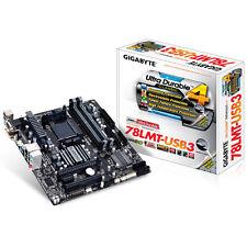 GIGABYTE 78LMT-USB3 uATX Motherboard AMD  AM3+ DDR3 HDMI DVI VGA USB3